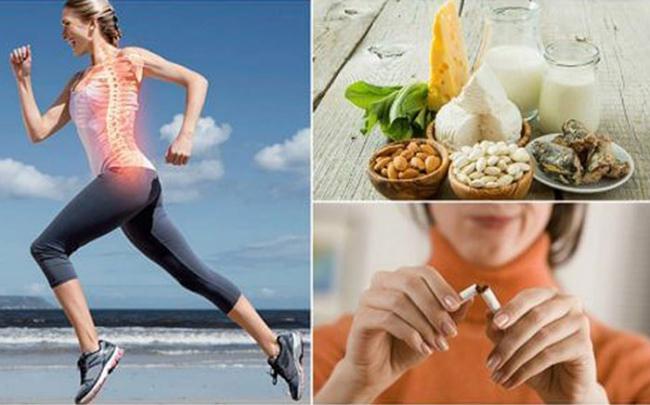 7 thói quen tốt dự phòng loãng xương