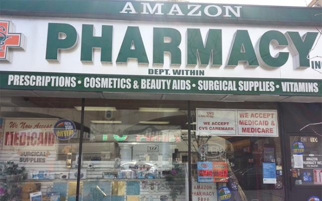 """Amazon """"lấn sân"""" sang thị trường dược phẩm"""
