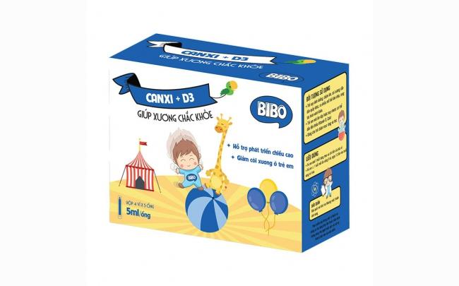 Calci D3 Bibo: Chỉ định, chống chỉ định, cách dùng