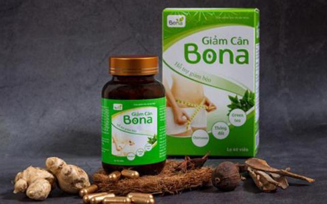Cảnh giác với giảm cân Bona quảng cáo tràn lan
