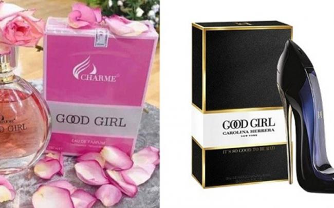 Charme Perfume 'mập mờ' tên sản phẩm giống nhiều thương hiệu nổi tiếng thế giới