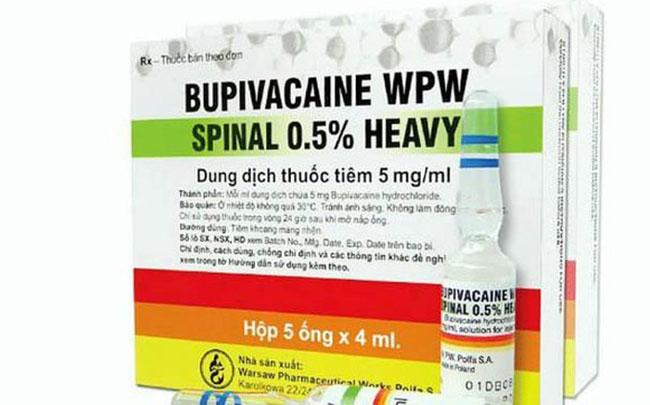 Cục Quản lý Dược yêu cầu thay thế thuốc Bupivacaine sau vụ 2 sản phụ tử vong