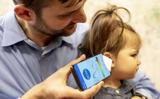 Dùng app kiểm tra bệnh nhiễm trùng tai