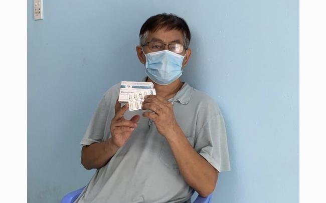 F0 đầu tiên tại TPHCM được sử dụng thuốc kháng virus Molnupiravir 400mg Stella
