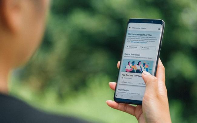 Facebook ra mắt công cụ hối thúc người dùng đi kiểm tra sức khỏe