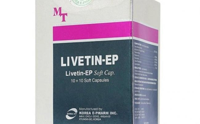 Hà Nội đình chỉ lưu hành thuốc Livetin - EP