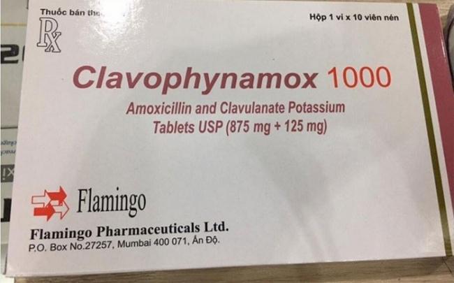 Hà Nội thu hồi khẩn thuốc kháng sinh Clavophynamox không đạt tiêu chuẩn