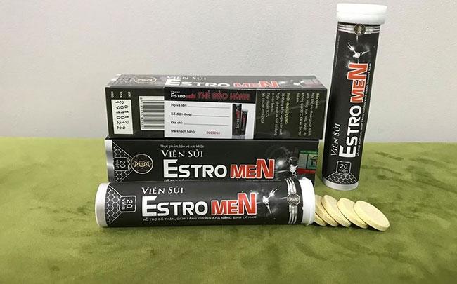 Ngang nhiên quảng cáo thực phẩm BVSK Viên sủi Estromen có tác dụng như thuốc chữa bệnh