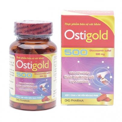 Ostigold 500: Chỉ định, chống chỉ định, cách dùng