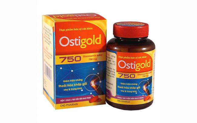 Ostigold 750: Chỉ định, chống chỉ định, cách dùng