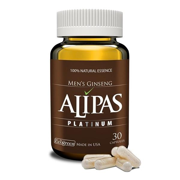 Sâm Alipas Platinum giúp tăng cường sức khỏe sinh lý nam