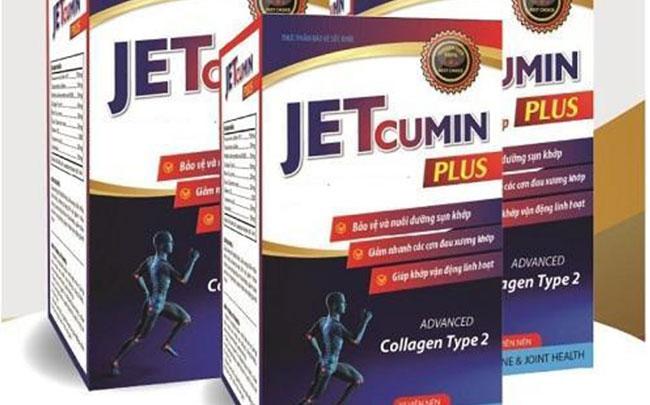 Thu hồi toàn bộ sản phẩm JETCUMIN PLUS của Dược phẩm quốc tế Nacophar