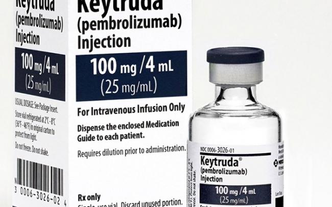 Thuốc điều trị ung thư mới Keytruda sẽ cứu sống hàng nghìn bệnh nhân