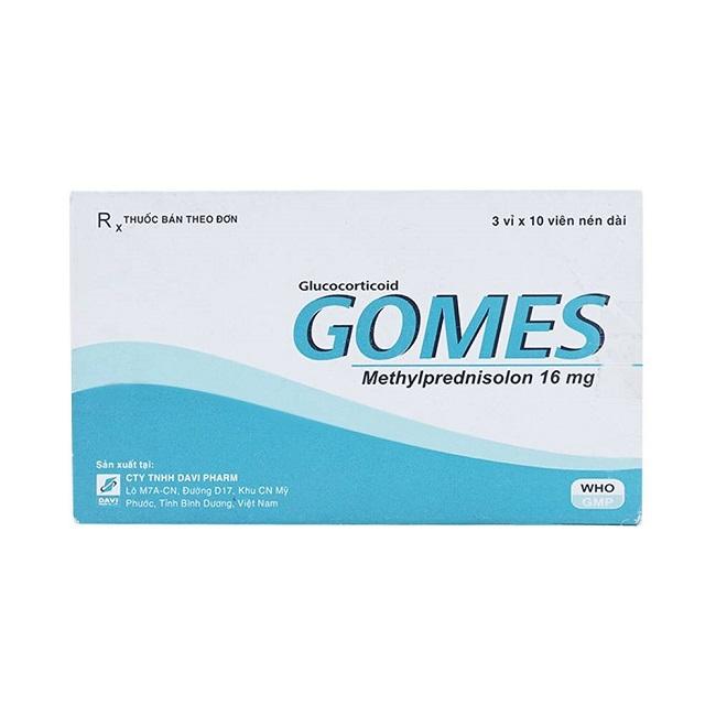 Thuốc Gomes 16mg