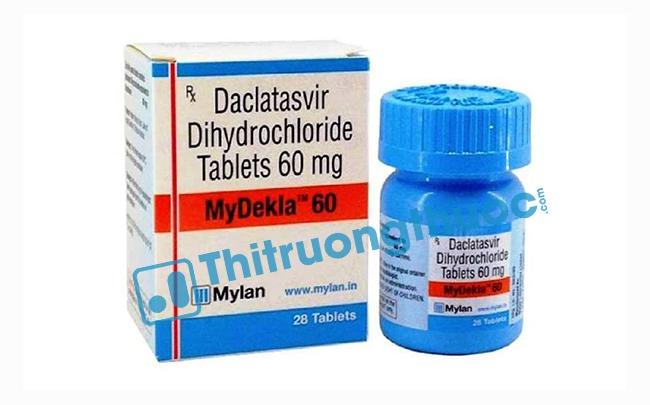 Thuốc Mydekla 60mg: Chỉ định, chống chỉ định, cách dùng