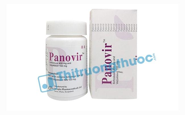 Thuốc Panovir: Chỉ định, chống chỉ định, cách dùng