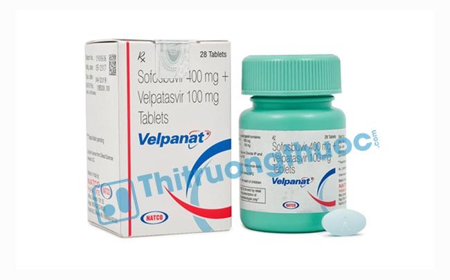 Thuốc Velpanat: Chỉ định, chống chỉ định, cách dùng