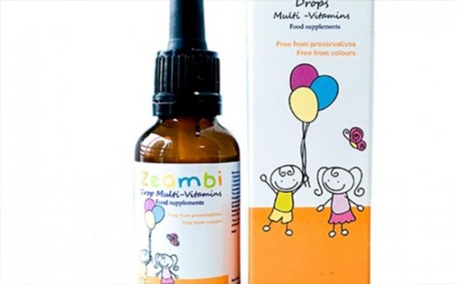 TPBVSK Zeambi Drops Multi- Vitamins vi phạm quảng cáo, có dấu hiệu lừa dối NTD