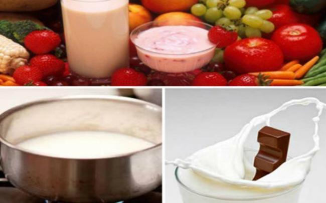 Uống sữa cho thêm sô cô la có thể làm tăng nguy cơ mắc sỏi đường tiết niệu