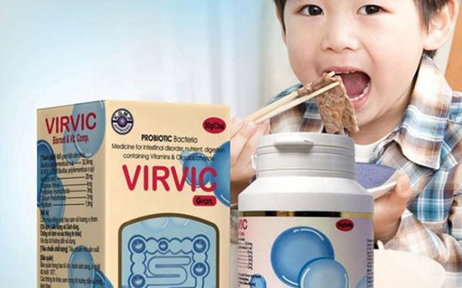 Vì sao cốm Virvic gran chữa rối loạn tiêu hóa bị thu hồi?