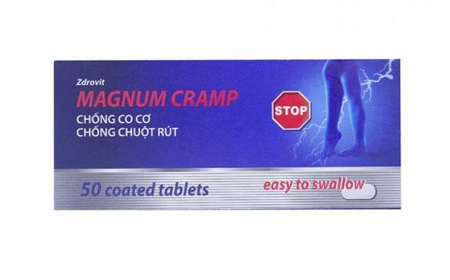 Xử phạt Công ty Sản phẩm tự nhiên Việt Nam về ghi nhãn TPBVSK Magnum Cramp và Zdrovit Douflex