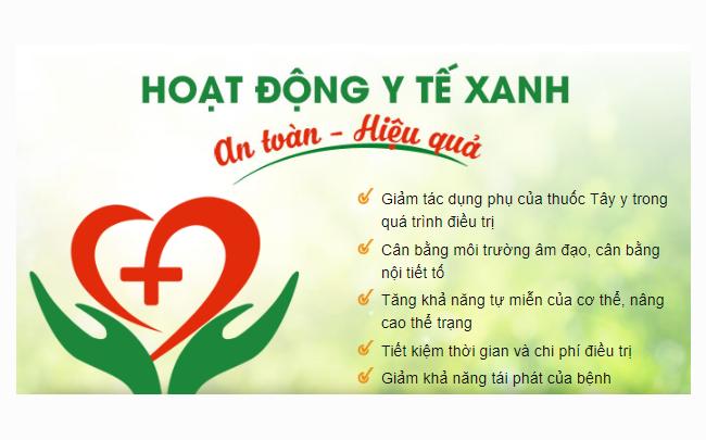 Y tế xanh là gì ? Phòng khám áp dụng mô hình y tế xanh đầu tiên ở Việt Nam
